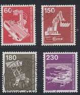 BERL 582-586 gestempelt