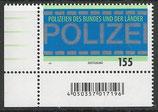 BRD 3480  postfrisch mit Eckrand links unten