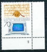1224 postfrisch mit Formnummer 2 (BRD)