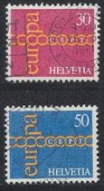 CH 947-948 gestempelt