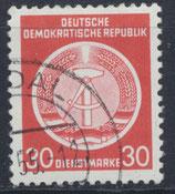 DDR-DI 11 philat. Stempel