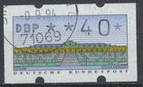 2.1 - 40 gestempelt (BRD-ATM)