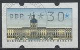 30 (Pf) ATM 1 gestempelt (WB)