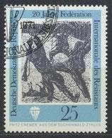 DDR 1681 philat. Stempel