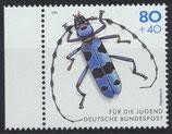 BRD 1666 postfrisch mit Bogenrand links
