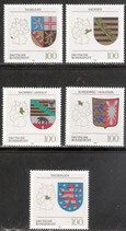 BRD 1712-1716 postfrisch