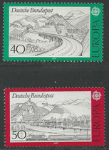 934-935  postfrisch   (BRD)