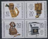 DDR 3226-3229 postfrisch Viererblock