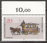 BERL 446 postfrisch mit Oberrand (RWZ 20,00)