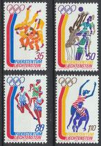 LIE 651-654  postfrisch