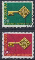 BRD 559-560 gestempelt (2)