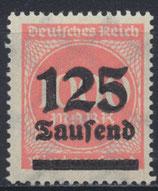 DR 291 postfrisch