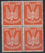 DR 263 postfrisch Viererblock