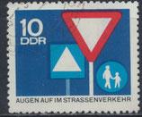 DDR 1169 philat. Stempel