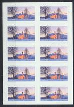 3346 (10) postfrisch Folienblatt (BRD)