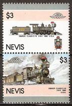 428-429 postfrisch (Nevis-Eisenbahn)