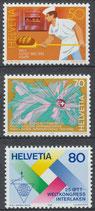 1301-1303 postfrisch (CH)