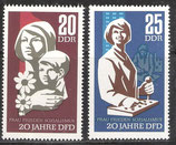 DDR 1256-1257 postfrisch
