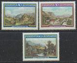 806-808  postfrisch (LIE)