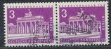 BERL 231 gestempelt waagrechtes Paar