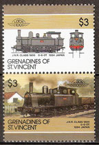 472-473 postfrisch (St. Vincent / Grenadinen Eisenbahn)