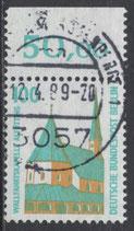 BRD 1406 gestempelt mit Bogenrand oben