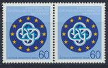 BERL 721 postfrisch waagrechtes Paar