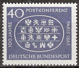 398   postfrisch  (BRD)