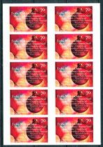 3270 postfrisch Folienblatt (BRD)