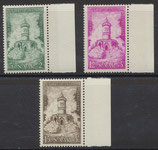 SAAR 373-374 postfrisch mit Bogenrand rechts