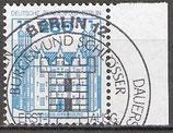 BERL 676 gestempelt mit Bogenrand rechts