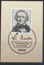 BERL 759   mit Ersttagsonderstempel