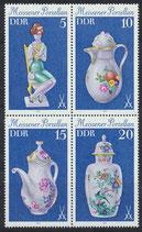 DDR 2464-2467 postfrisch Viererblock