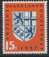SAAR 379 postfrisch