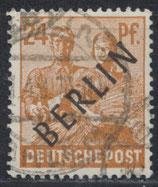 BERL 9 gestempelt