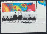 BRD 1973 gestempelt mit Eckrand rechts unten