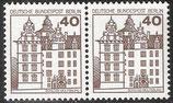 BERL 614 postfrisch waagrechtes Paar