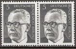 BERL  359 postfrisch; waagrechtes Paar