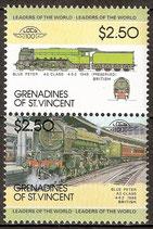 298-299 postfrisch (St. Vincent / Grenadinen Eisenbahn)