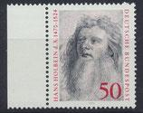 BRD 813 postfrisch mit Bogenrand links