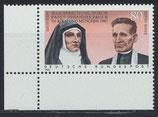 BRD 1352 postfrisch mit Eckrand links unten