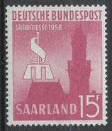 SAAR 435 postfrisch