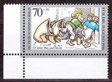 BERL 869 postfrisch mit Eckrand links unten