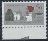 BRD 1084 postfrisch mit Bogenrand unten