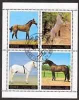 2837-2840 gestempelt KP-Pferde)