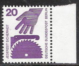 BERL 404 postfrisch mit Bogenrand rechts