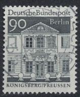 BERL 281 gestempelt