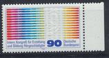 BRD 1053 postfrisch mit Bogenrand rechts