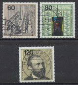 BRD 1215-1217 gestempelt (1)