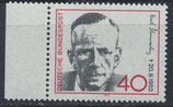 BRD 738 postfrisch mit Bogenrand links